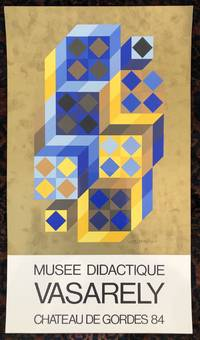 VASARELY. Muse Didactique. (Original Poster)