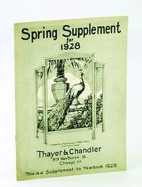 Thayer & Chandler Spring Supplement for 1928: Supplement to Yearbook 1928