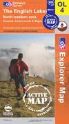 image of The English Lakes - North Western Area (OS Explorer Map Active)