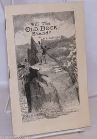 image of Will the Old Book Stand
