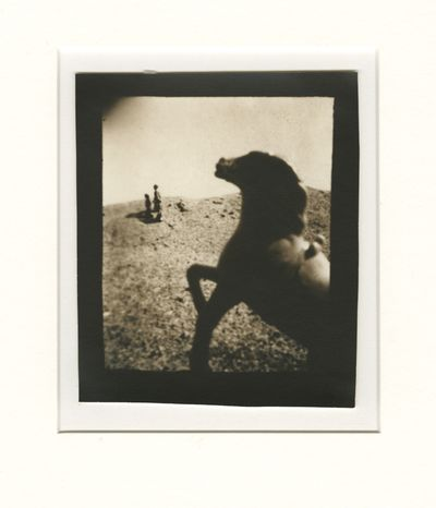 Thorne-Thomsen, Ruth. Original vintage toned silver gelatin photograph, image size 4 7/16 x 5 3/8 in...