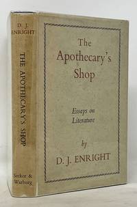 The APOTHECARY'S SHOP.  Essays on Literature