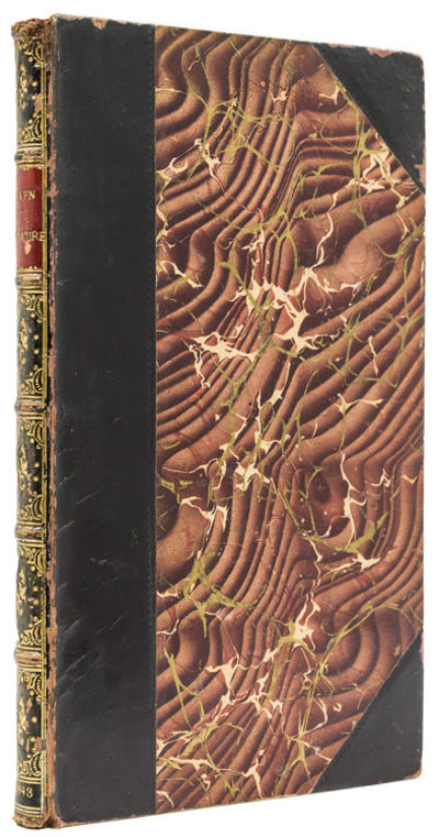Cophehagen: J.-D. Quist, 1842. Second edition. 1 vols. 8vo. Contemporary 3/4/ calf and marbled board...