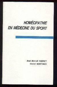 Homéopathie en médecine du sport