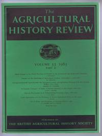 The Agricultural History Review Volume 33 1985 Part II