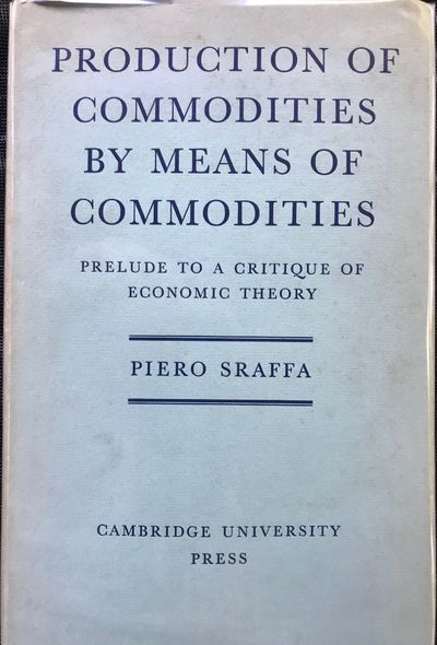 Cambridge: At the University Press, 1960. First edition. 8vo. xii, 99pp. Blue cloth with dustjacket ...