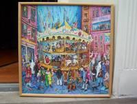 "image of Original Artwork Entitled ""Carnival of the 1990s Vanities"""