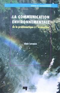 image of La communication environnementale de la problématique à l'évaluation