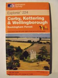 image of Corby, Kettering and Wellingborough (Explorer Maps)