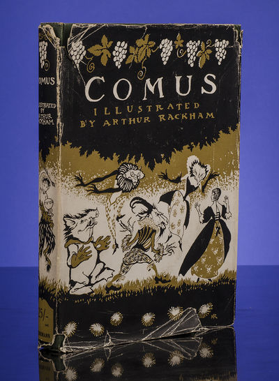 London: William Heinemann, 1921. First Trade Edition of Rackham's Comus In the Original Color Pictor...