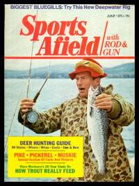 image of SPORTS AFIELD - with Rod and Gun - Volume 173, number 6 - June 1975: Understanding Northern Pike; Understanding Chain Pickerel; Understanding Muskellunge; The Big Three of the Far North; Salmon and Steelhead Fishing; Giant Tarpon; Bass Tourneys