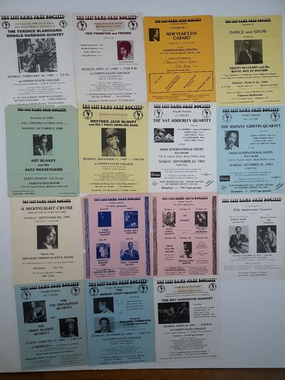 Baltimore. 15 assorted flyers including: Roy Hargrove, Jimmy Smith, Houston Person, Rufus Harley, Do...