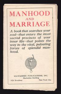 MANHOOD AND MARRIAGE (PROSPECTUS)