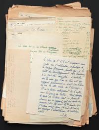 """image of [Manuscrit autographe inédit] """"La rime"""""""
