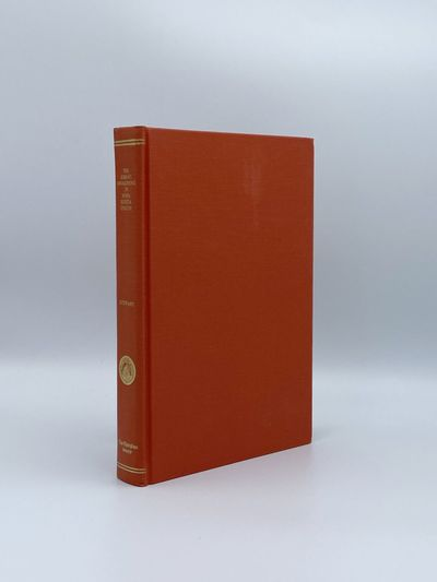 Toronto: The Champlain Society, 1982. A fine copy. 8vo. Plates. Original red cloth, gilt-lettered on...