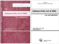 Sarbanes-Oxley Act of 2002: Law and Explanation. 2002. Softbound