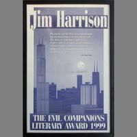 The Evil Companions Literary Award 1999 Broadside
