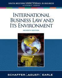image of International Business Law and Its Environment (South-Western Legal Studies in Business Academic)