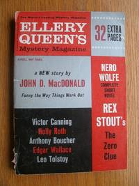 Ellery Queen's Mystery Magazine April 1963 by  Leo Tolstoy  Marge Jackson - Paperback - First Appearance - 1963 - from Scene of the Crime Books, IOBA (SKU: 17361)