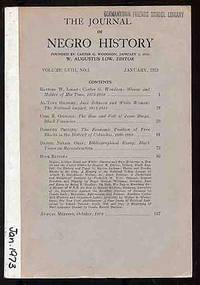 image of The Journal of Negro History: Volume LVIII, No. 1, January, 1973