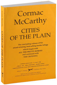 image of CITIES OF THE PLAIN - UNCORRECTED PROOF COPY