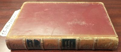 London: Henry G. Bohn, 1857. Hardcover. Octavo, 390 pages; VG; fully bound in red leather, paneled s...
