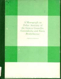 A monograph on foliar anatomy of the genera Connellia, Cottendorfia, and Navia (Bromeliaceae)