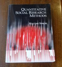 image of Quantitative Social Research Methods