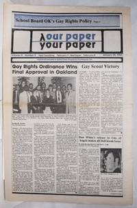 image of Our Paper, Your Paper; the gay family paper of the Santa Clara Valley; vol. 3, #2, January 25, 1984