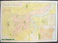 New Map of Shanghai.  Pocket Edition. 1945.