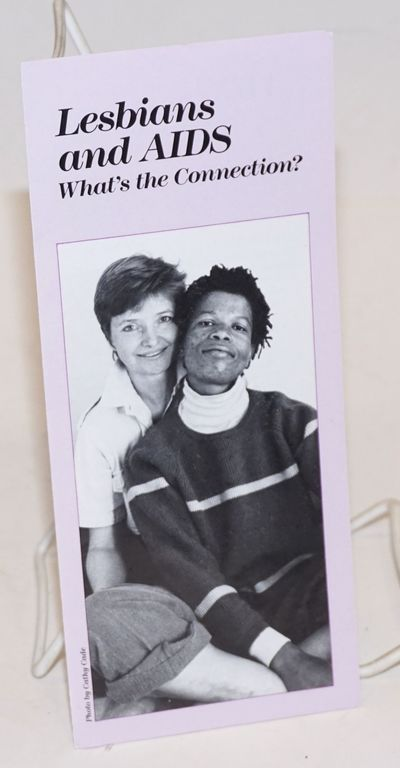 San Francisco: San Francisco AIDS Foundation, 1988. Six-panel folded brochure 3.75x8.5 inches, risk ...