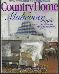COUNTRY HOME MAGAZINE OCTOBER 2000 by Country Home - 2000 - from Gibson's Books and Biblio.com