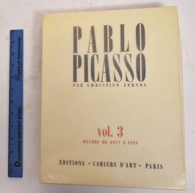 Paris: Editions Cahiers D'Art, 1949. Softcover. VG+. as new w/ light speckling to glassine jacket.. ...