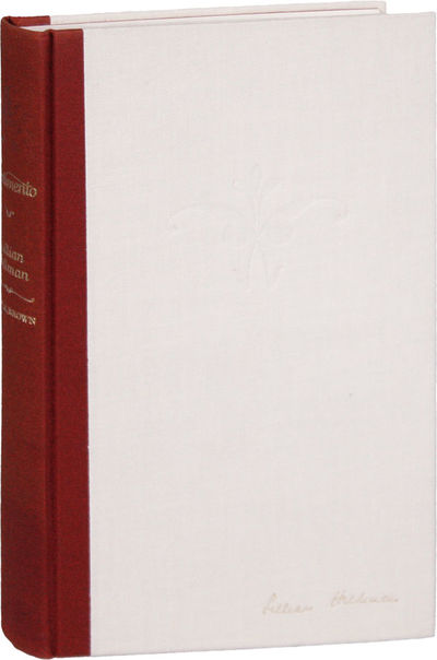 Boston: Little, Brown and Company, 1973. First Edition. Limited Issue, specially bound and signed by...