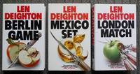 image of GAME, SET & MATCH TRILOGY.  1. BERLIN GAME.  2. MEXICO SET.  3. LONDON MATCH.  3 BOOKS IN TOTAL.