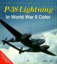 image of P-38 Lightning in World War II Color