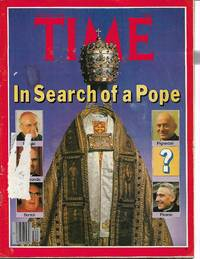 image of Time Magazine -August 21, 1978 - Death of Pope John Paul I