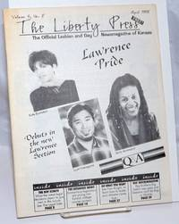 image of The Liberty Press: the official Lesbian_Gay Newsmagazine of Kansas vol. 4, #8, April 1998; Lawrence Pride