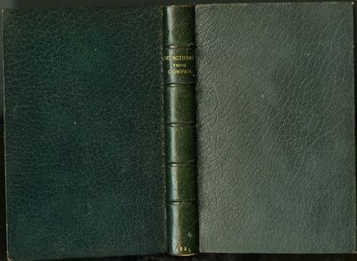 London: MacMillan, 1883. Hardcover (Full Leather). Very Good Condition. Rebound in full teal morocco...