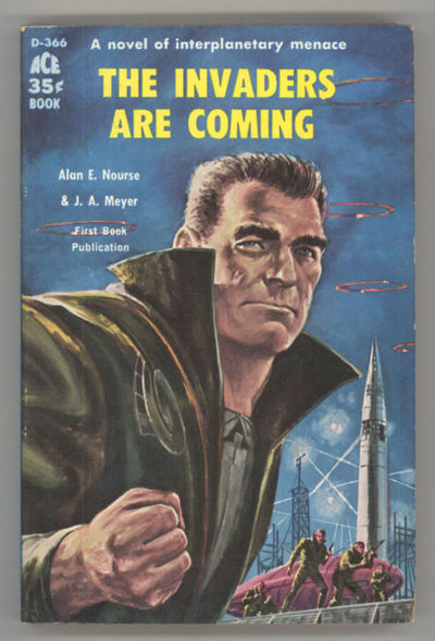 New York: Ace Books, 1959. Small octavo, pictorial wrappers. First edition. Ace D366. In an authorit...