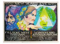 1969 New Year's Eve 1970: Quicksilver Messenger Service / Jefferson Airplane / Santana / Hot...