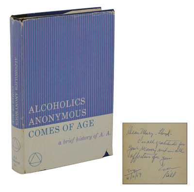 New York: Alcoholics Anonymous Publishing, 1957. First Edition. Very Good/Very Good. First edition s...