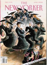 image of NEW YORKER: COVER MUSICAL CHAIRS by EDWARD SOREL