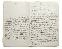 """Manuscript, working draft, entitled """"The Franco- Prussian War, its causes & probable Consequences"""