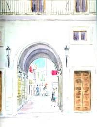 "image of Original Artwork Entitled ""ROTA, SPAIN"""