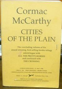 image of Cities of the Plain by McCarthy, Cormac