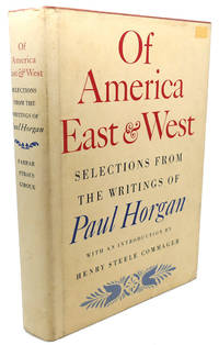 image of OF AMERICA EAST & WEST :  Selections from the Writings Of