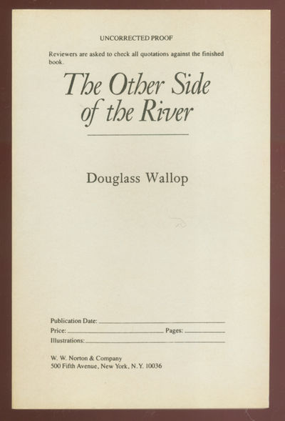 New York: W.W. Norton, 1984. Softcover. Fine. First edition, Uncorrected proof. Fine in wrappers.
