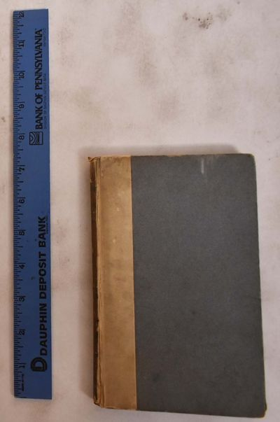 London: Chiswick Press, 1891. Hardcover. VG (boards are worn and stained but interior pages are clea...