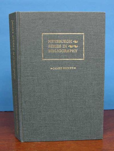 Pittsburgh: University of Pittsburgh Press, 1990. 1st edition. Blue cloth binding with silver stampe...